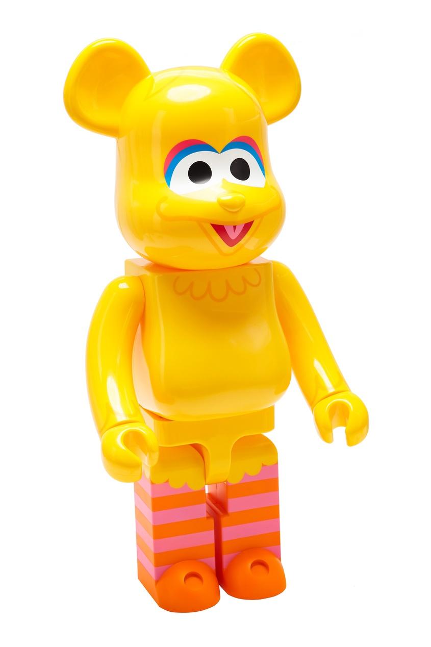 Статуэтка для интерьера Bearbrick Big Bird 1000% Medicom Toy x Sesame Street