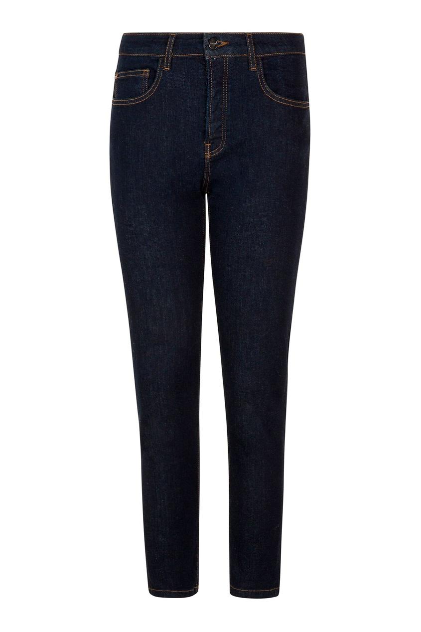 женские джинсы скинни max & moi, синие