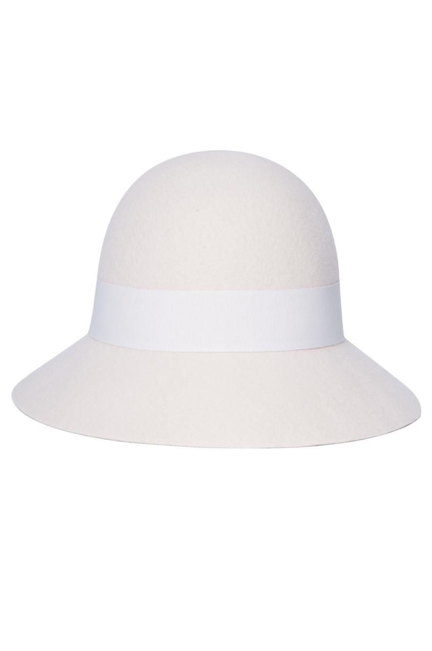 Шерстяная шляпа-федора