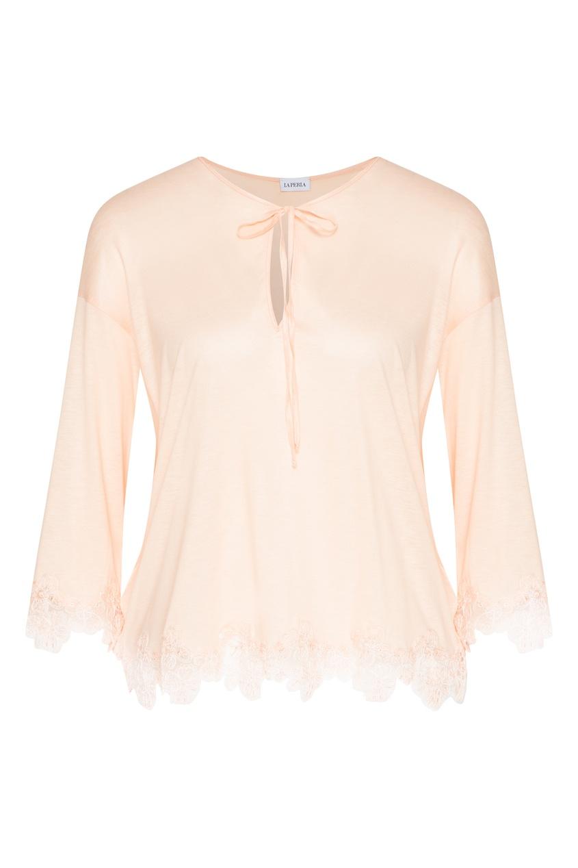 женская пижама la perla, розовая
