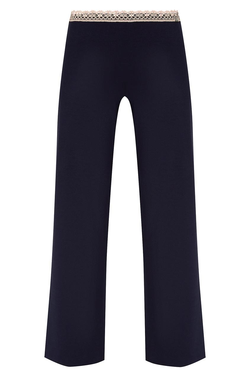 женские брюки la perla, синие