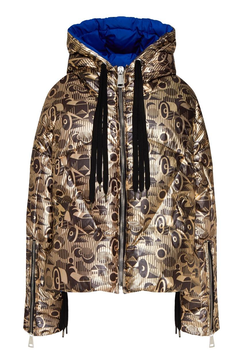 женская куртка khrisjoy, золотая