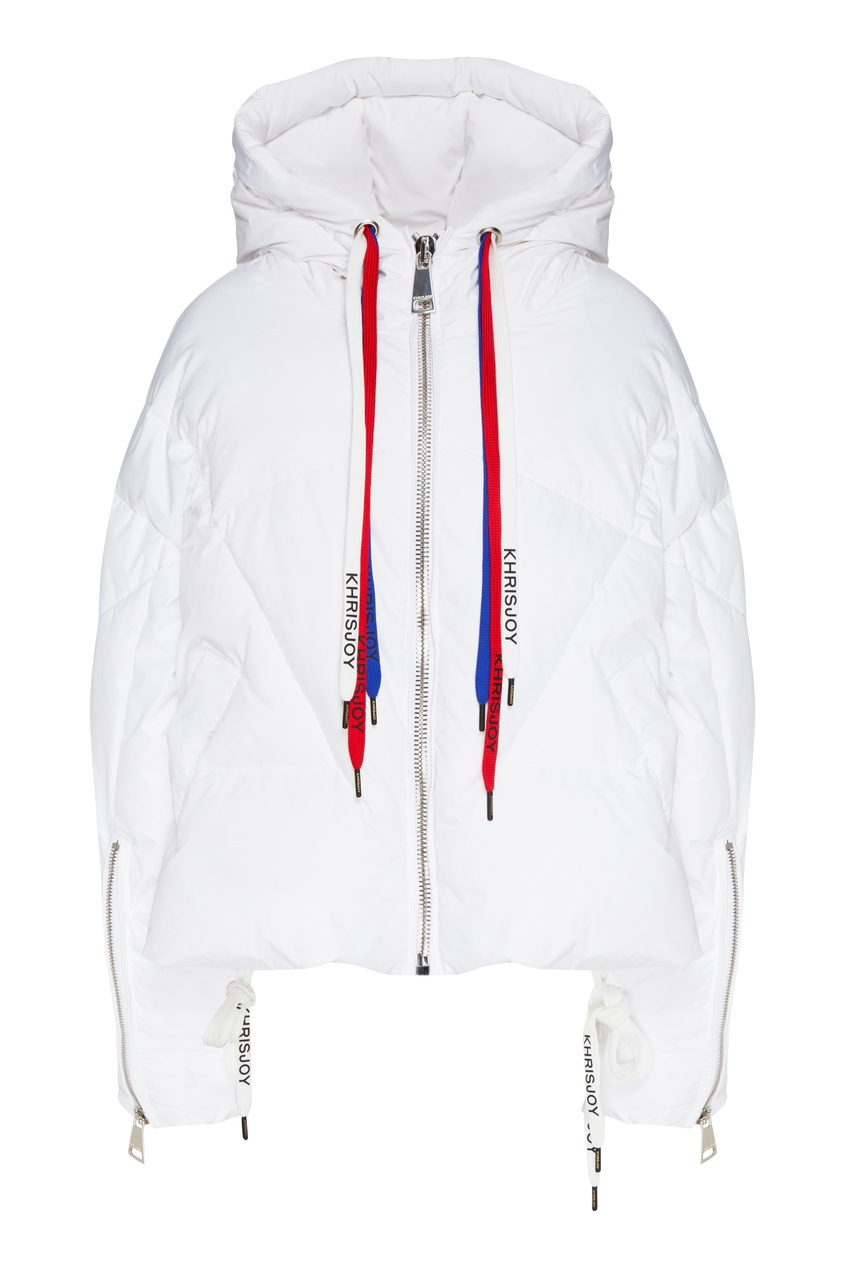 женская куртка стеганные khrisjoy, белая