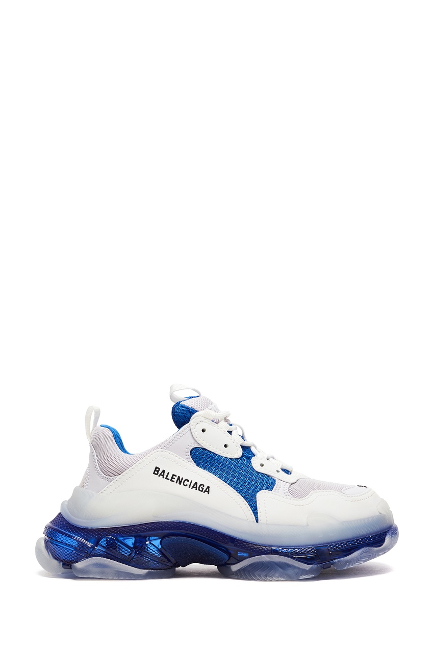 женские кроссовки balenciaga, белые