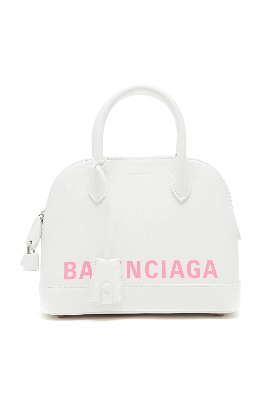 женская сумка balenciaga, белая