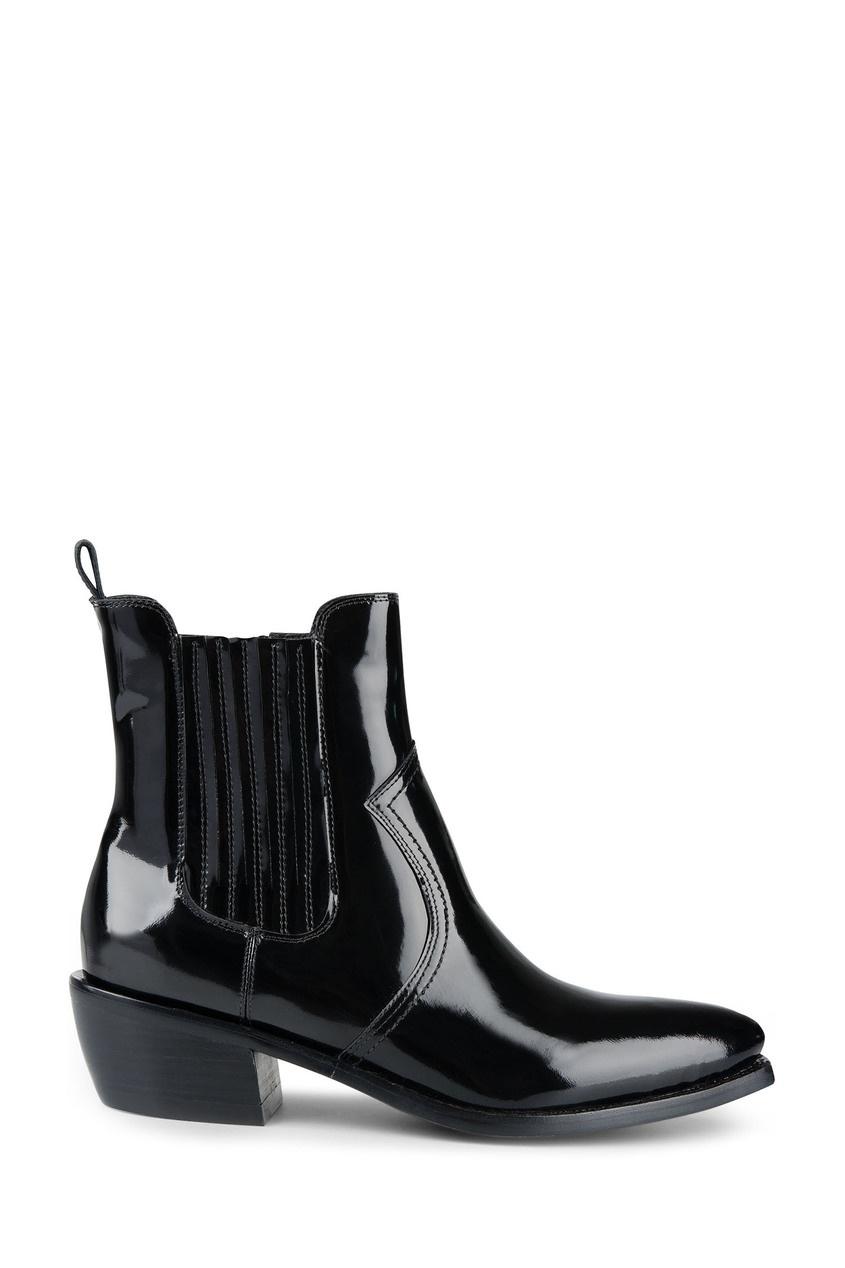 женские ботинки jeffrey campbell, черные