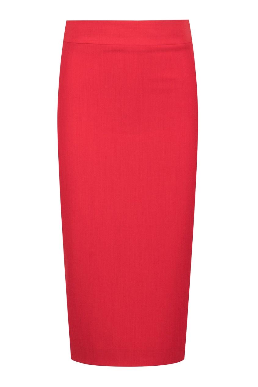 женская юбка blumarine, красная
