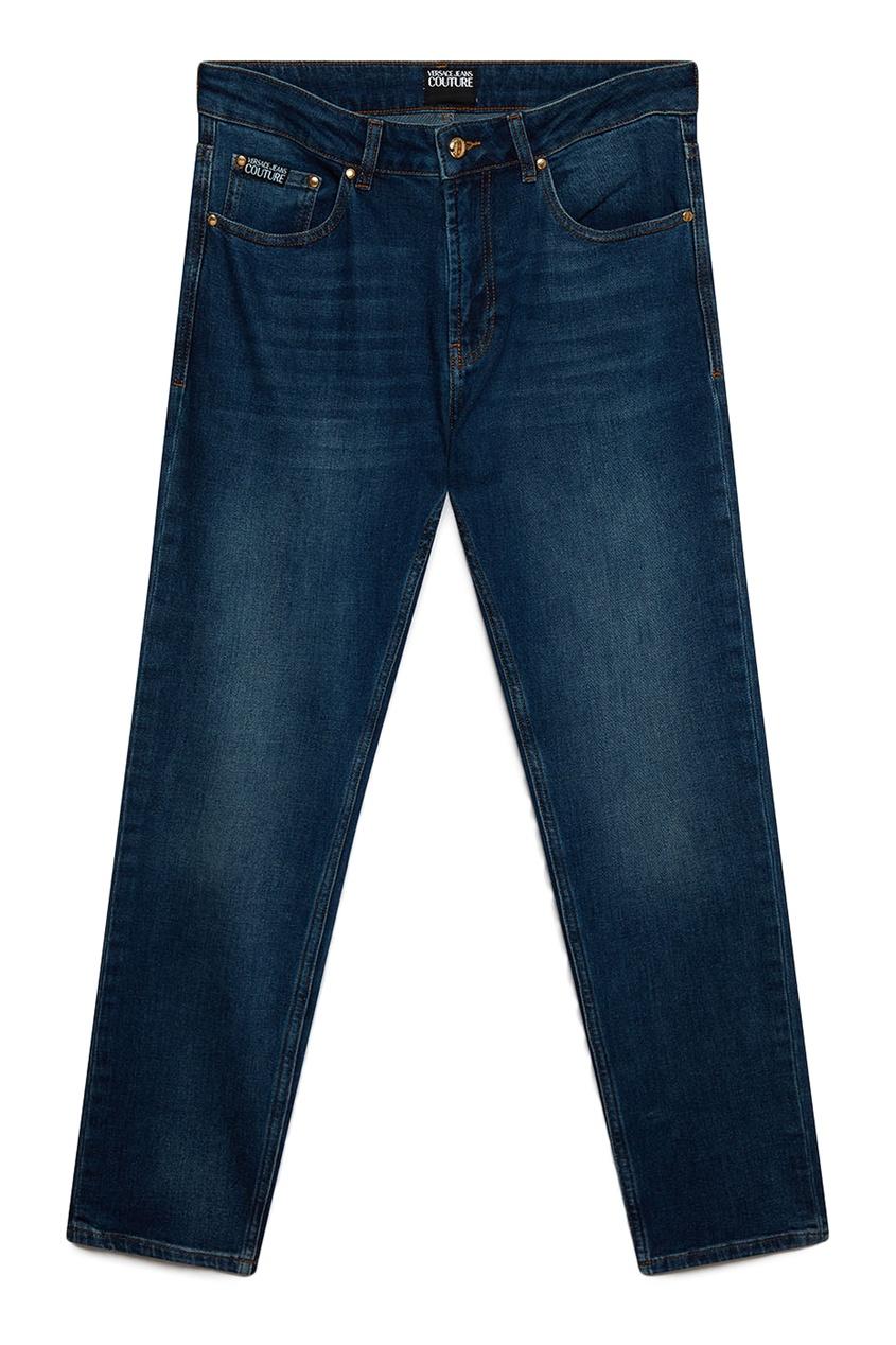 мужские джинсы versace, синие