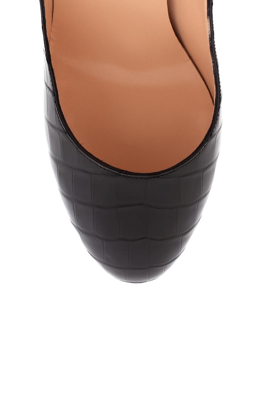 Туфли из кожи крокодила Bianca 140