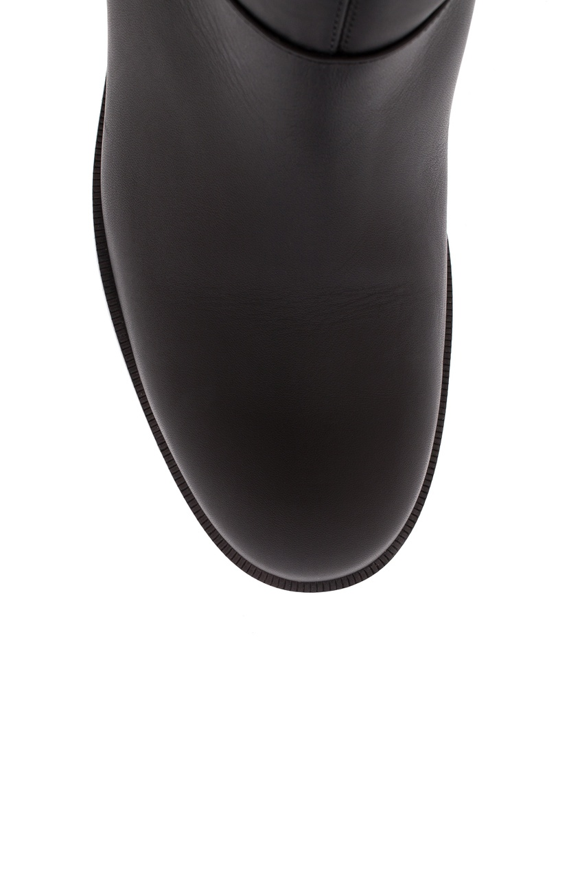 Сапоги из гладкой кожи Cate Boot Flat