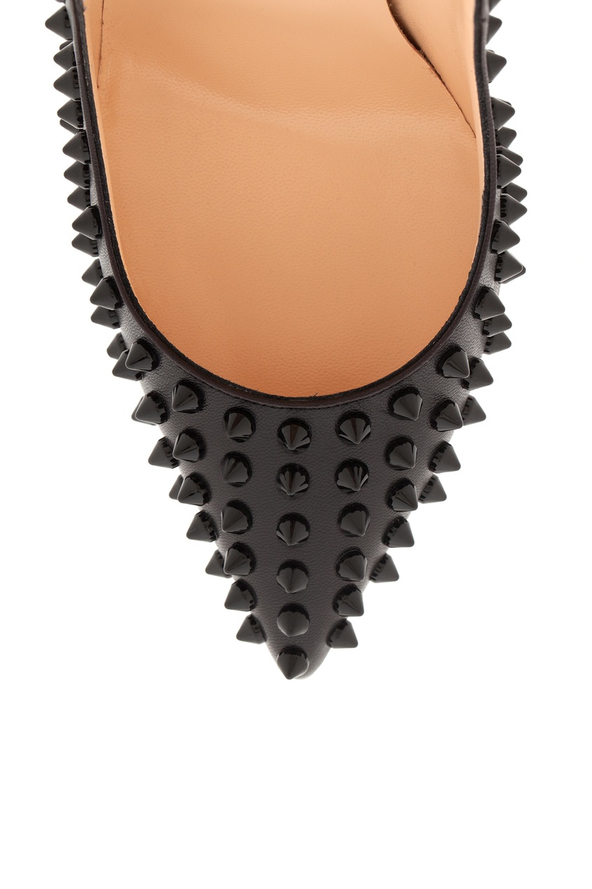 Кожаные туфли Pigalle Spikes 120