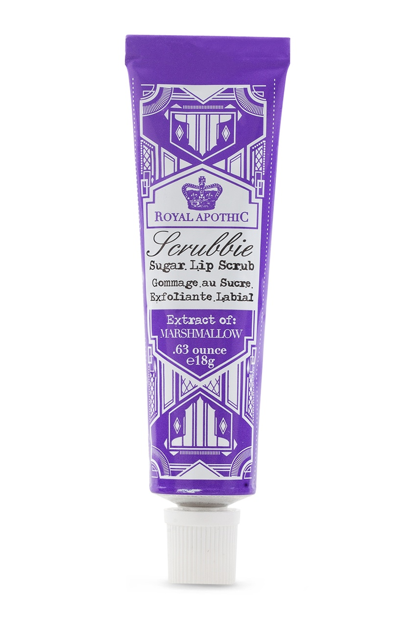 Royal Apothic Скраб для губ «Маршмеллоу» 18 г. royal apothic бальзам для губ инжир 9 г