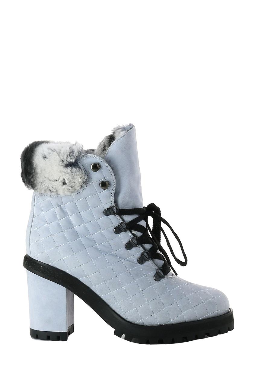 женские ботинки lerre, голубые