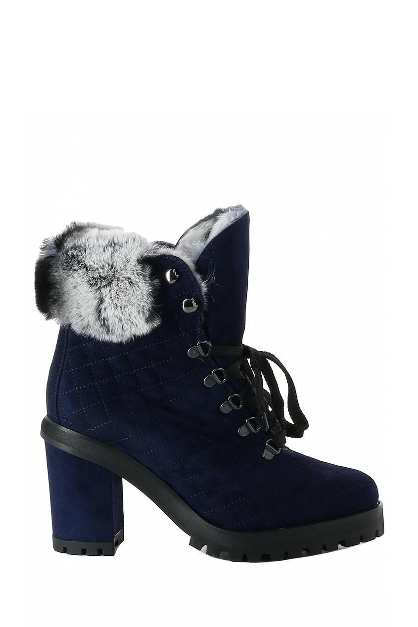 женские ботинки lerre, синие
