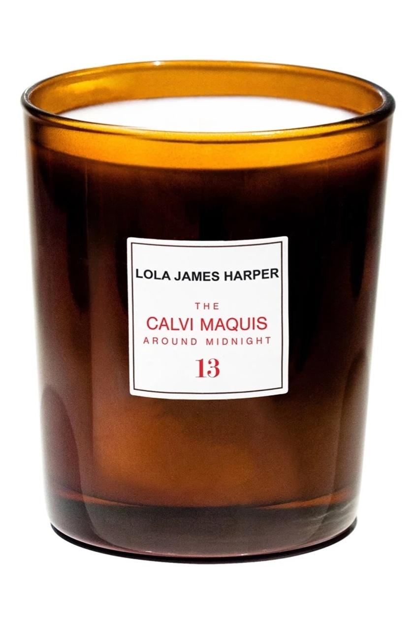 Ароматическая свеча The CALVI MAQUIS Around Midnight #13, 190 g фото