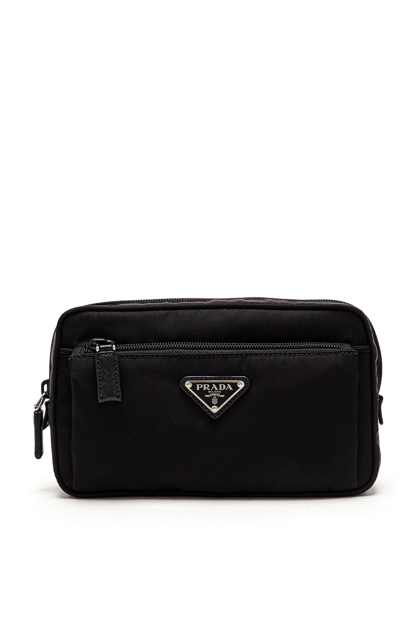 мужская сумка prada, черная