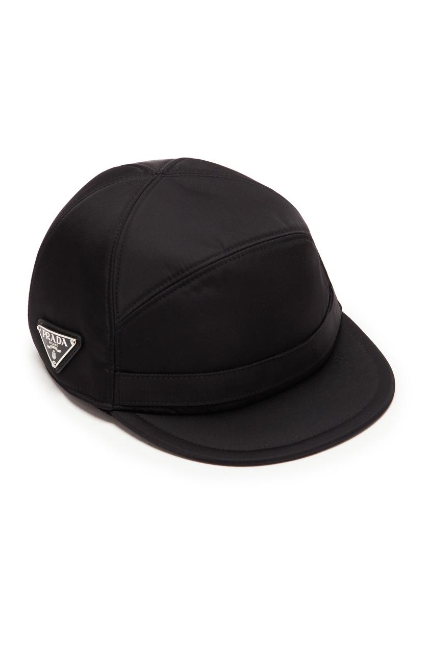 мужская кепка prada, черная