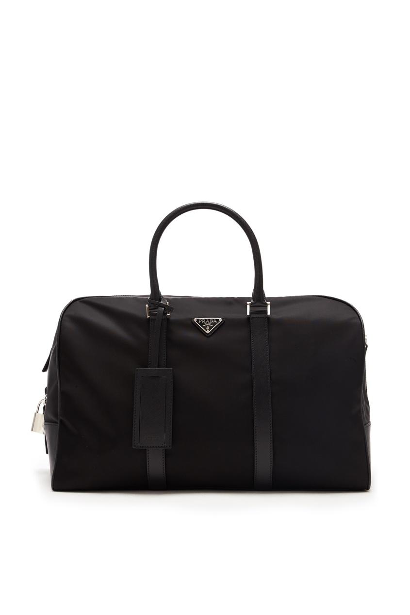 мужская дорожные сумка prada, черная