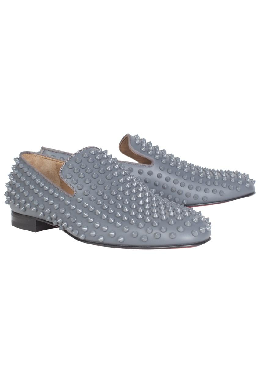 Кожаные туфли Rollerboy Spikes Flat Calf/GG