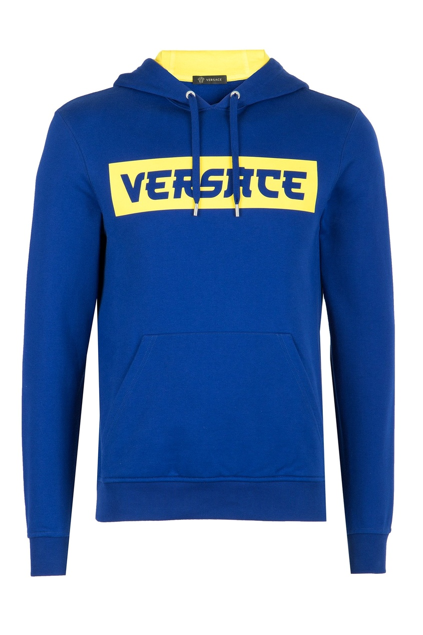 мужские худи versace, синие