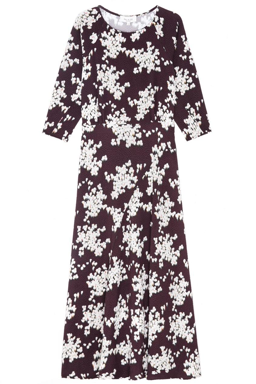 Paul & Joe Платье с цветочным принтом
