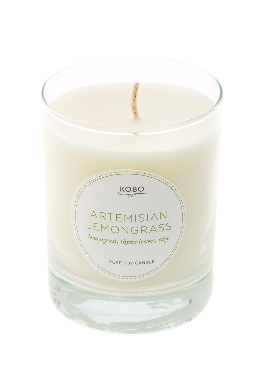 Ароматическая свеча Artemisian Lemongrass