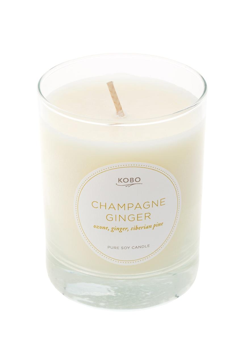 Kobo Candles Ароматическая свеча Champagne Ginger