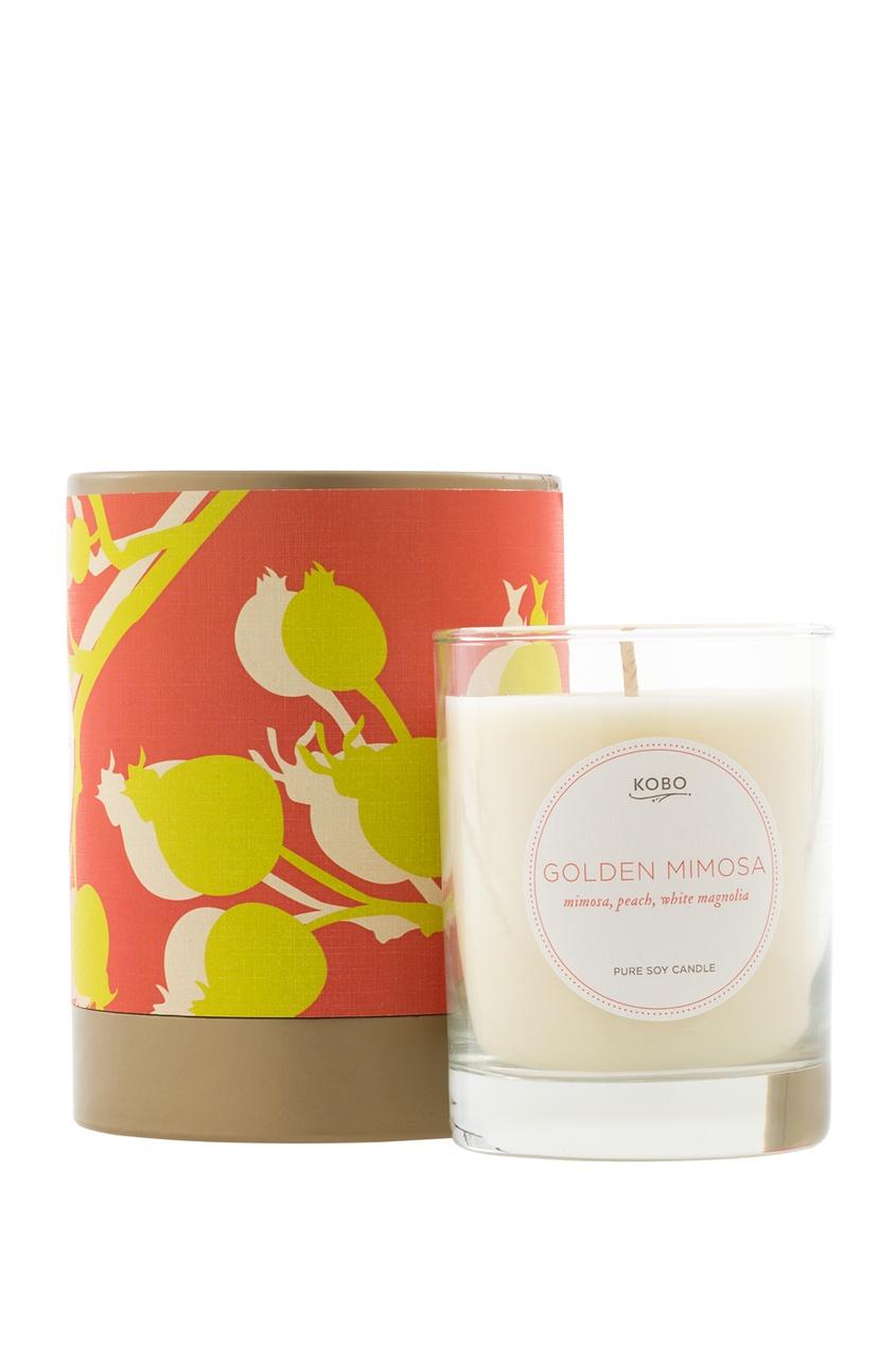 Ароматическая свеча Golden Mimosa