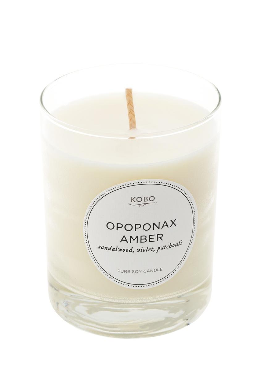 Ароматическая свеча Opoponax Amber