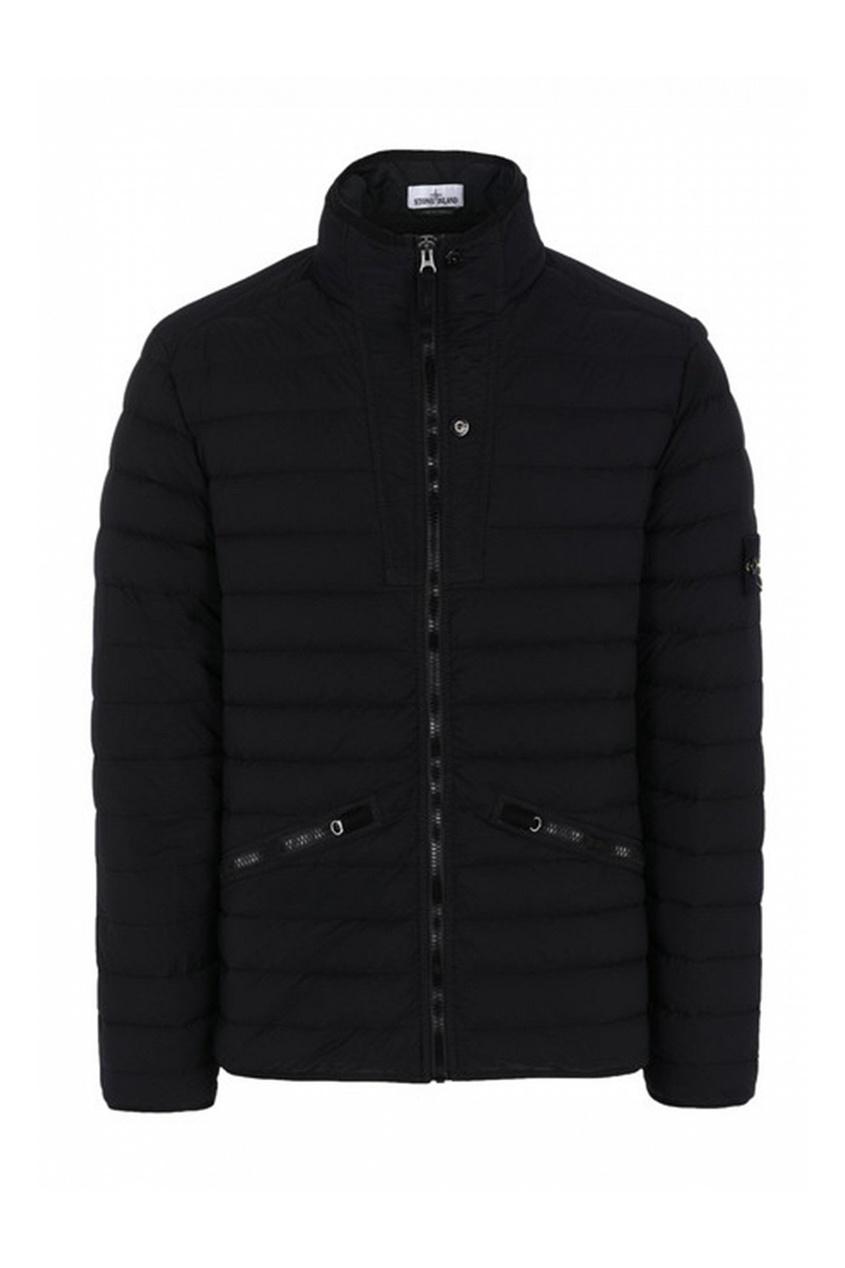 Черная куртка с карманами на молнии от Dior Kids