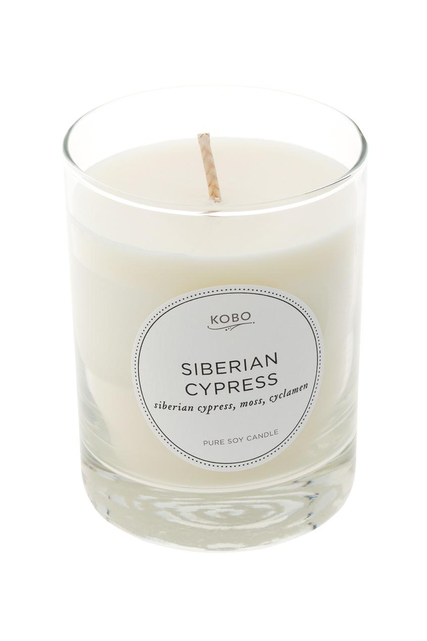 Ароматическая свеча Siberian Cypress