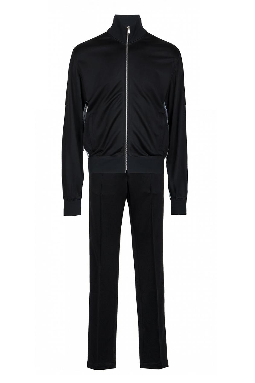 мужской спортивный костюм versace, черный
