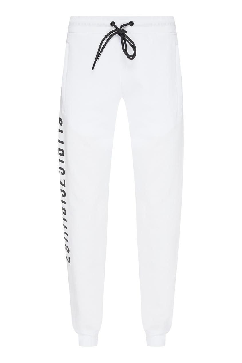 мужские брюки dirk bikkembergs, белые