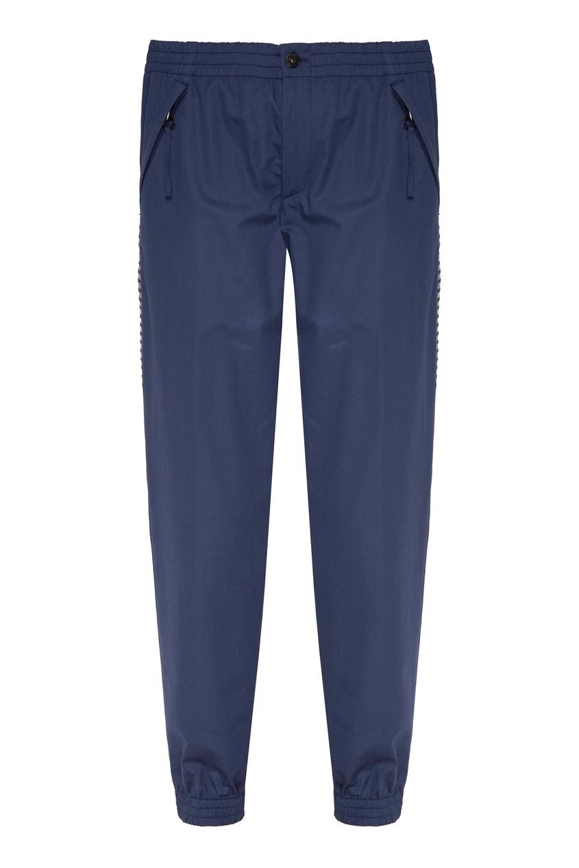 мужские брюки dirk bikkembergs, синие