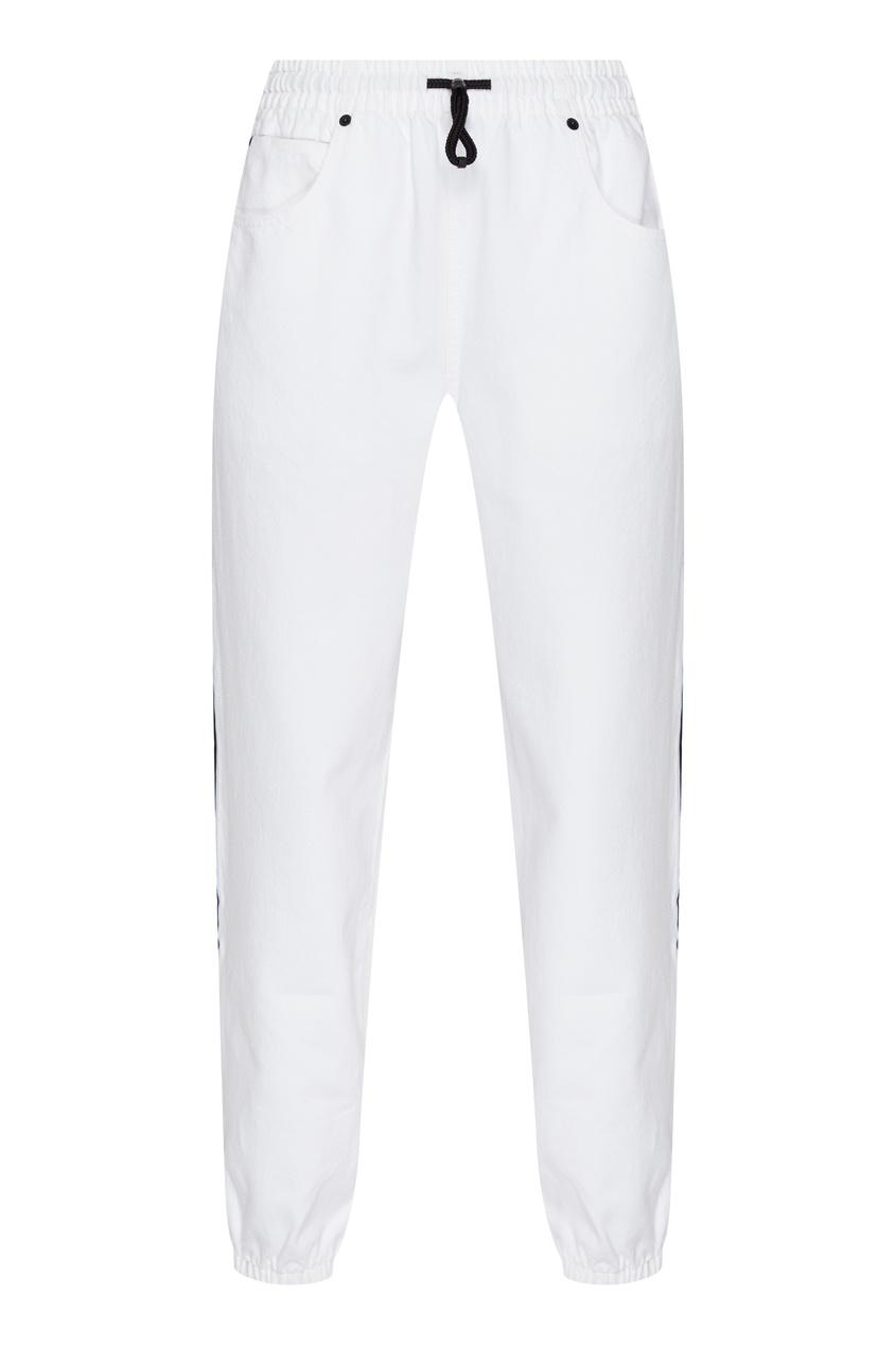 женские брюки alexander wang, белые
