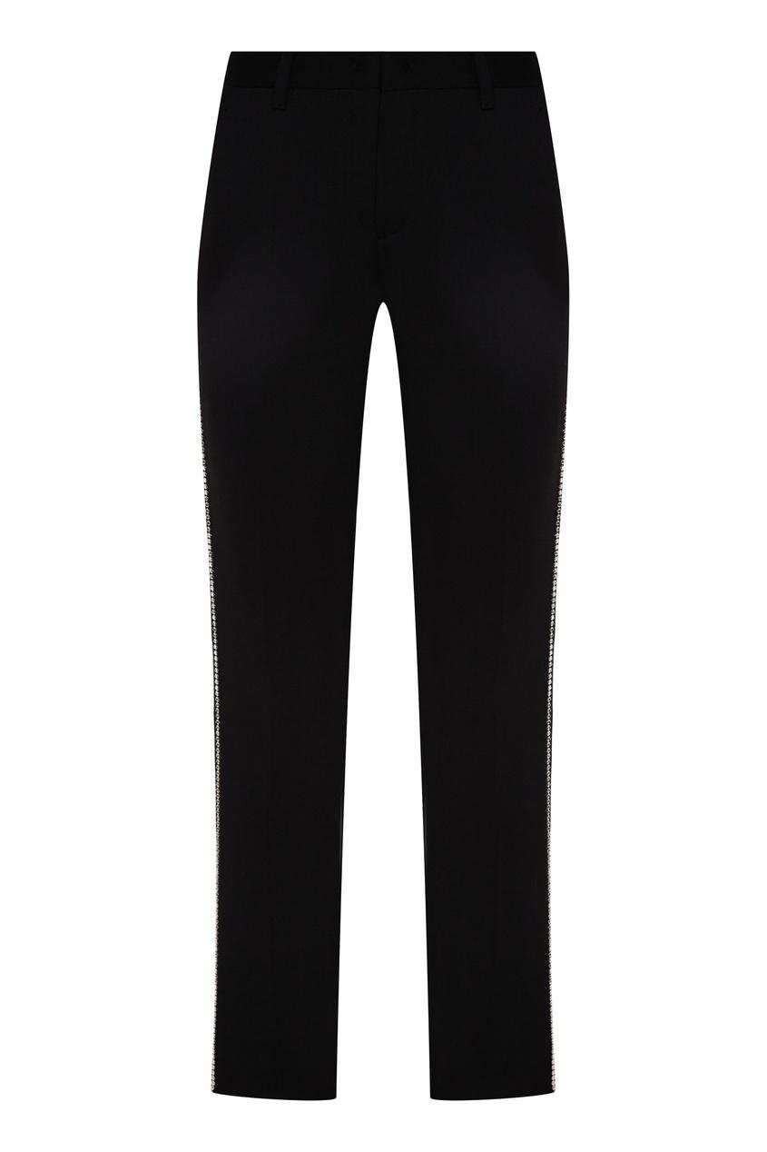женские брюки miu miu, черные