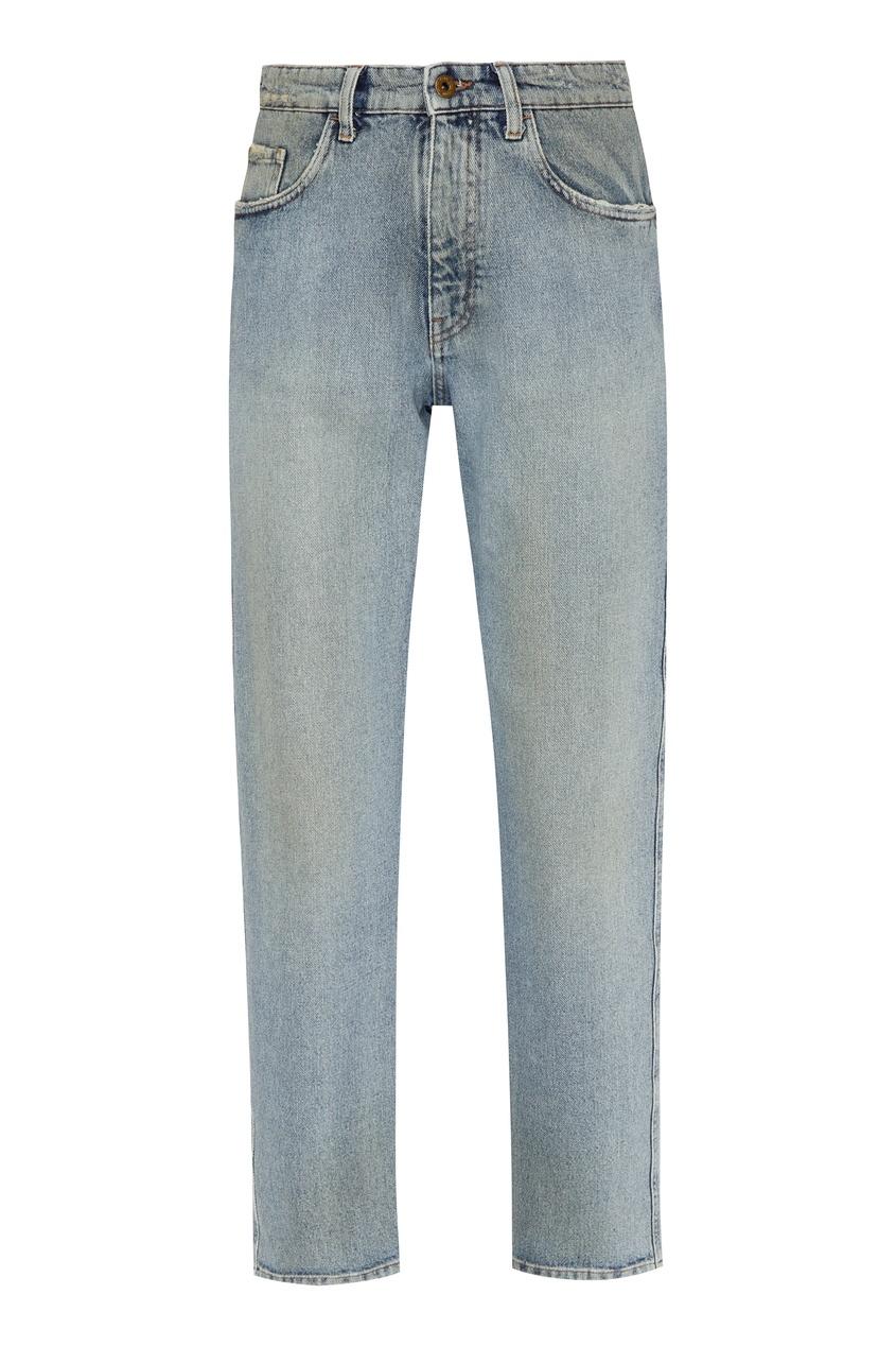 женские джинсы miu miu, синие