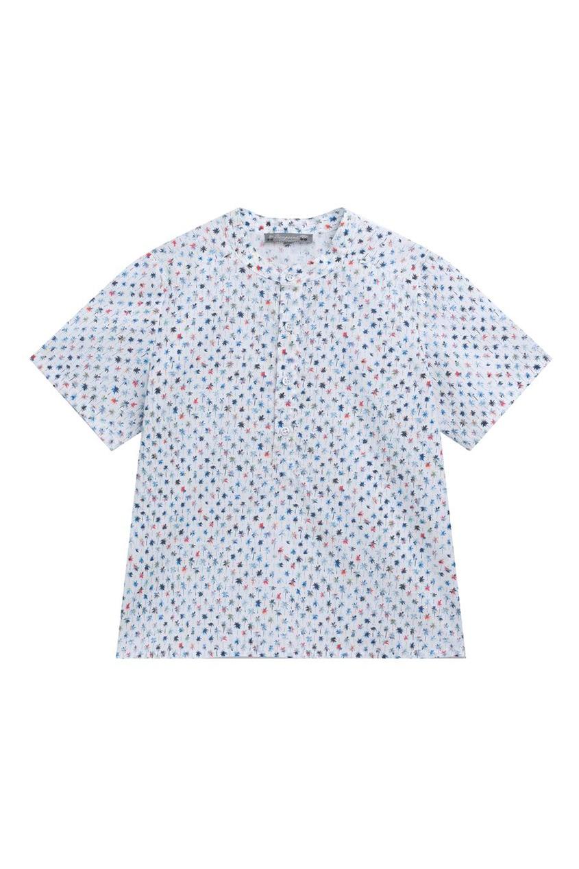 Принтованная рубашка Bonpoint