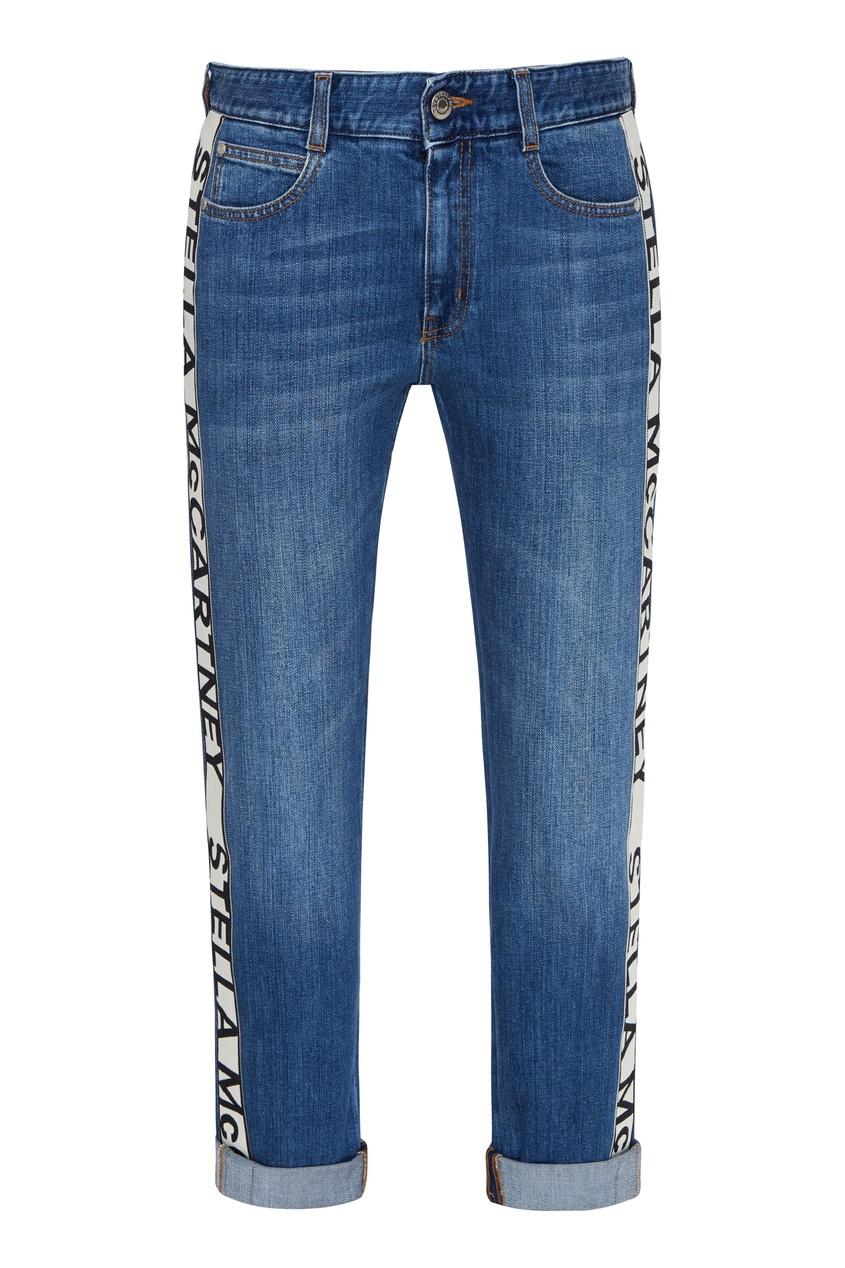 женские джинсы stella mccartney, синие