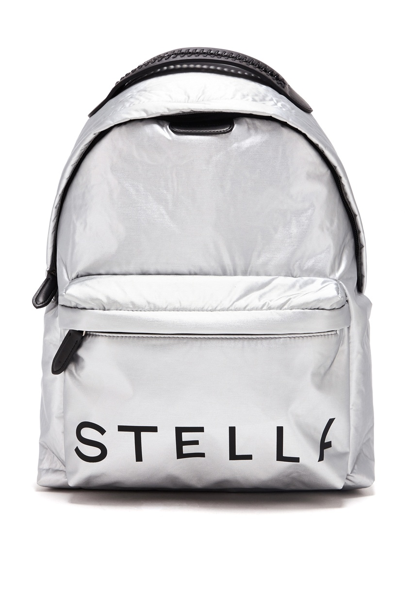 женский рюкзак stella mccartney, серый