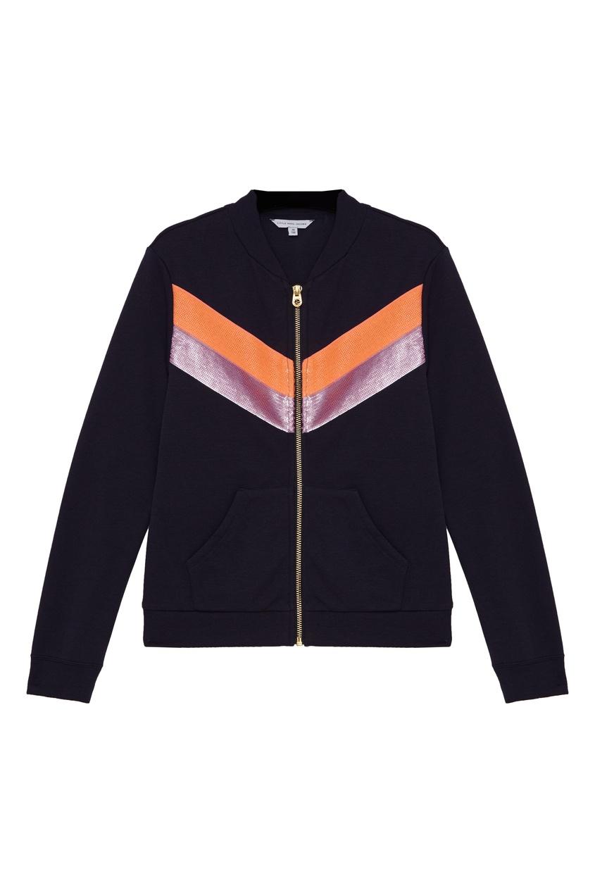 Спортивная куртка с полосками от Little Marc Jacobs