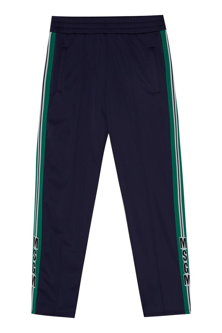Синие спортивные брюки от MSGM