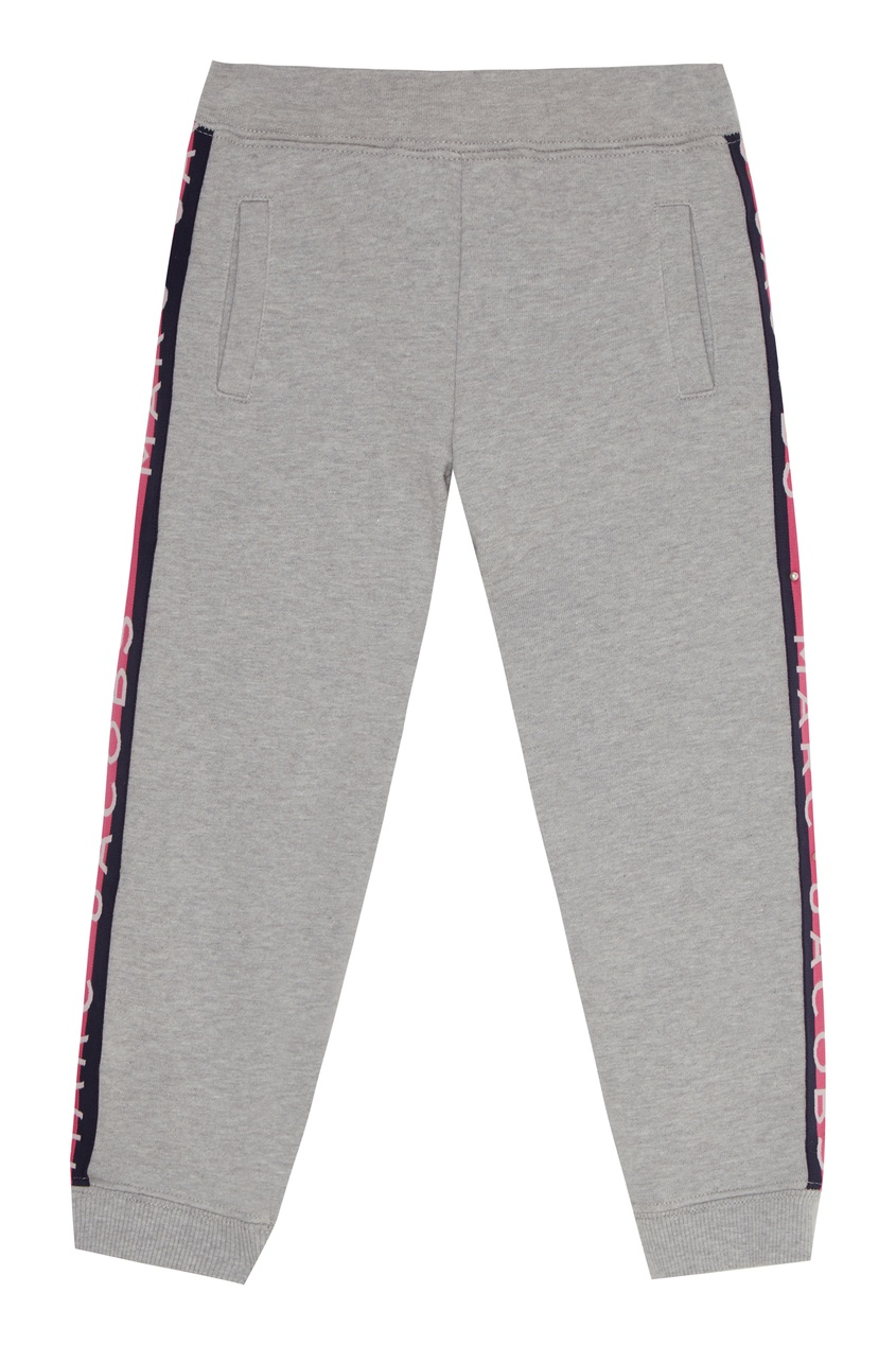 Спортивные брюки с лампасами от Little Marc Jacobs