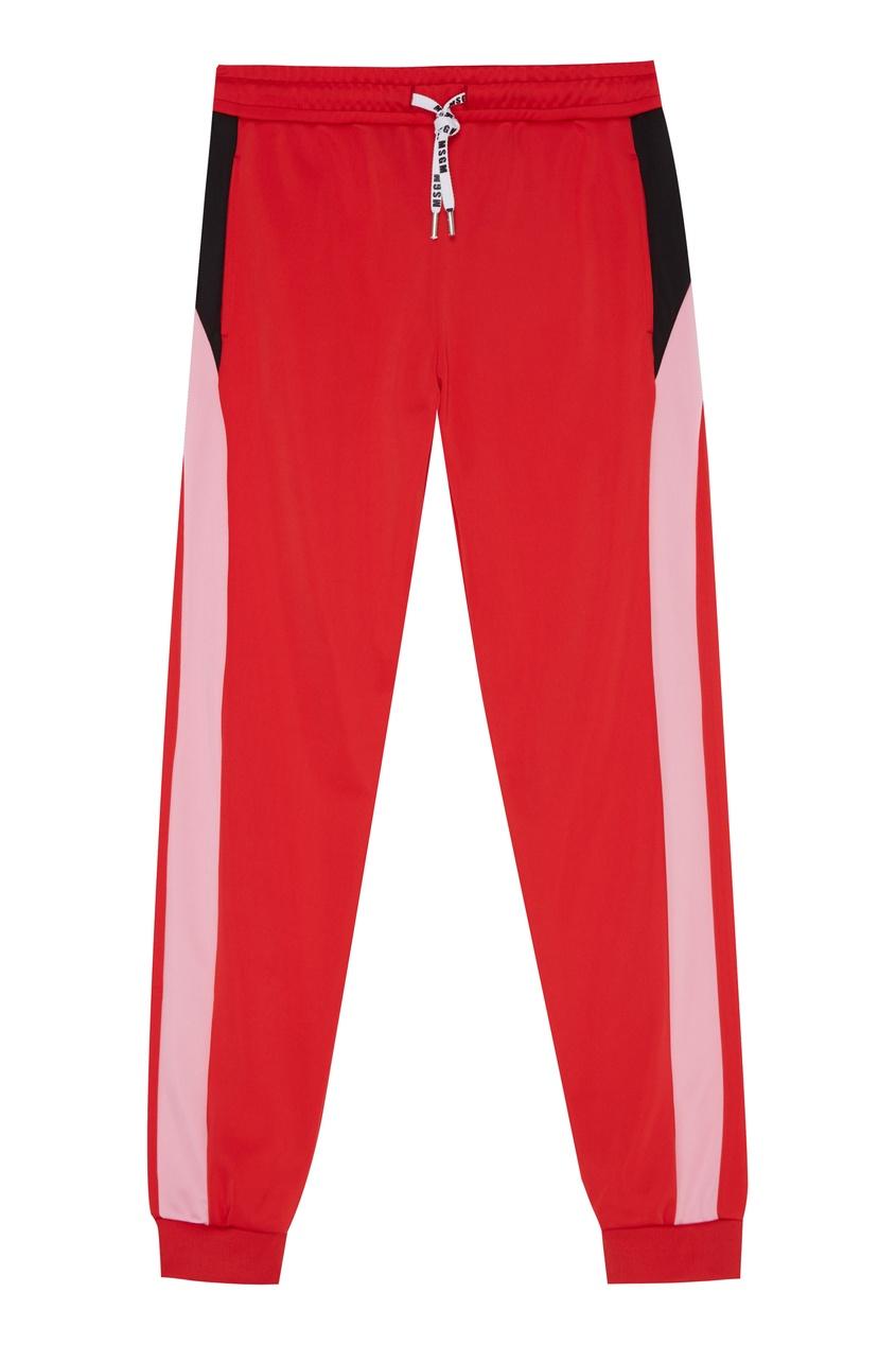 Красные спортивные брюки от MSGM
