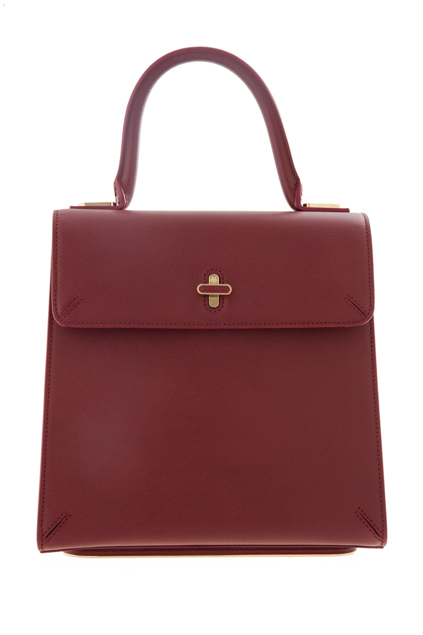 Кожаная сумка Bogart