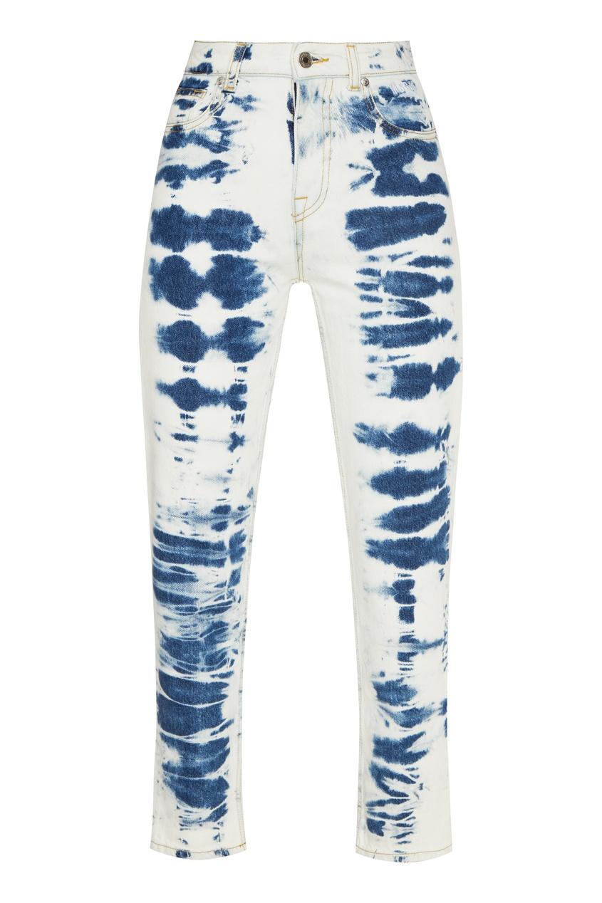 женские джинсы msgm, белые