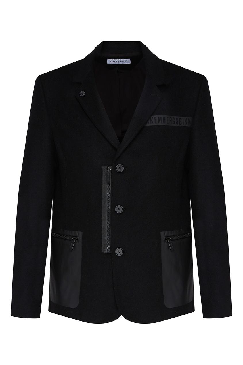 мужской пиджак dirk bikkembergs, черный