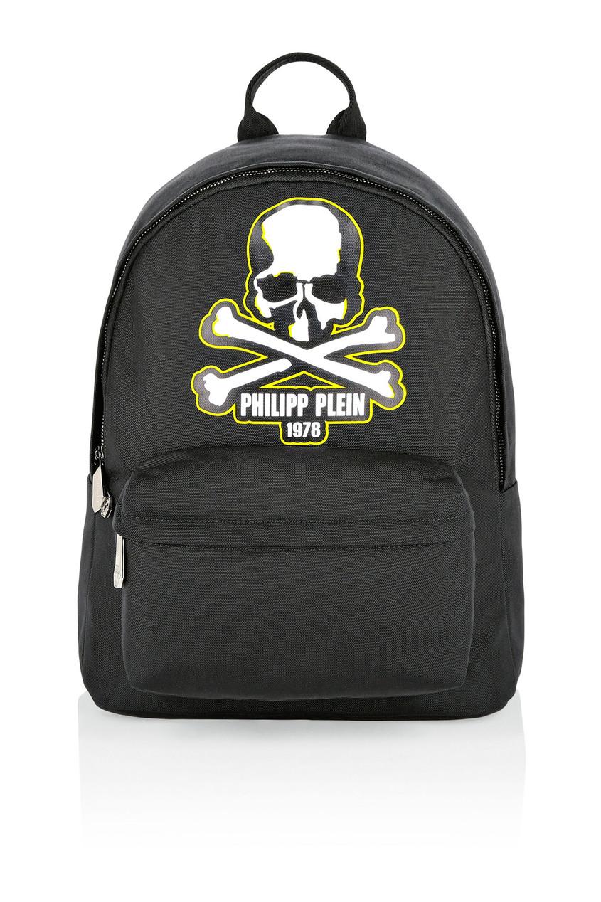 мужской рюкзак philipp plein, черный