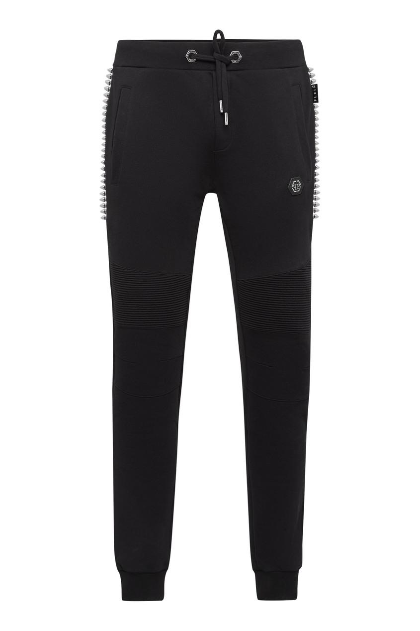 мужские брюки philipp plein, черные
