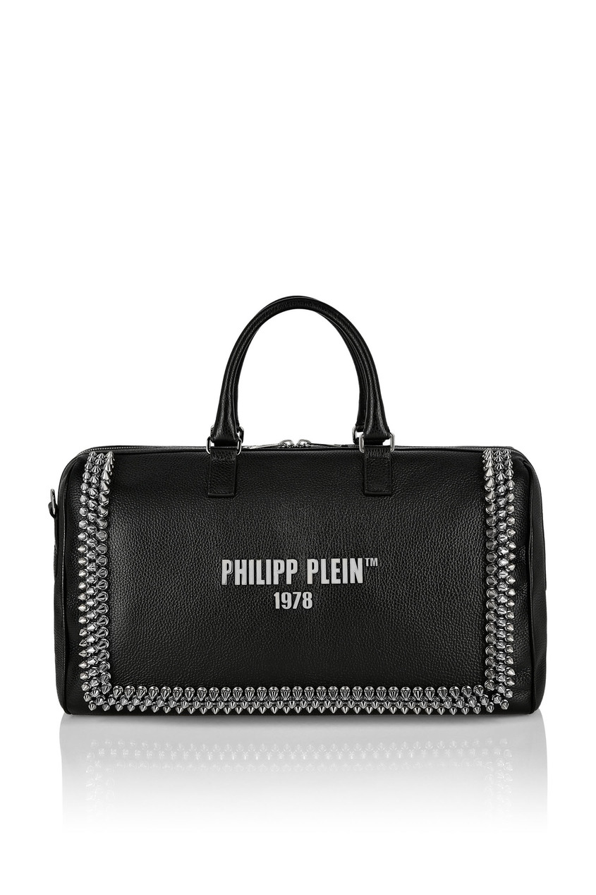 мужская дорожные сумка philipp plein, черная